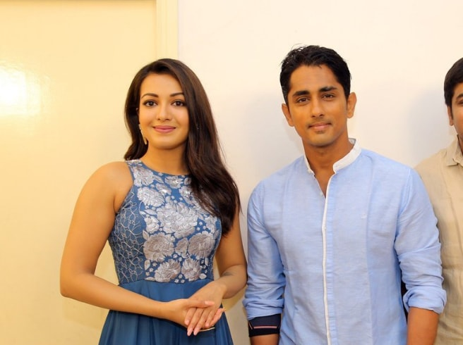Siddharth and Catherine Tresa Team Up for Aruvam