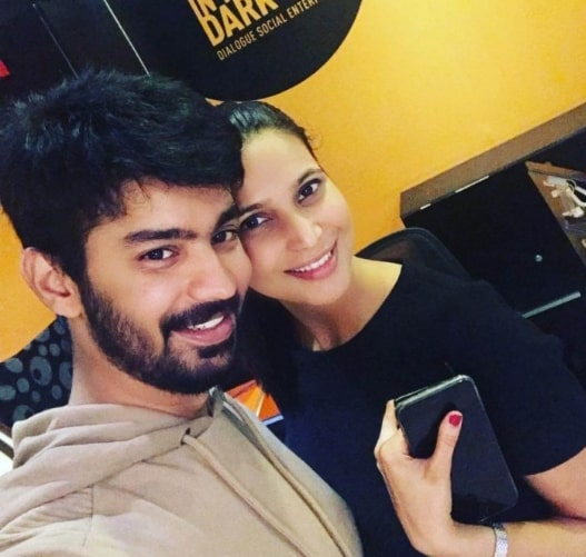 Mahat and GirlFriend Prachi Mishra