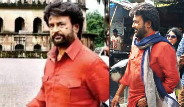 Rajinikanth petta shooting still 2