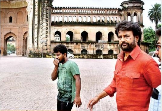 Rajinikanth petta shooting still