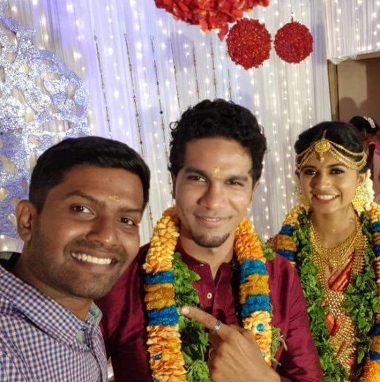 Eruma Saani Harija Marriage Photo | Harija Husband