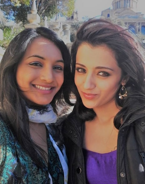 Naina Puttaswamy with Trisha