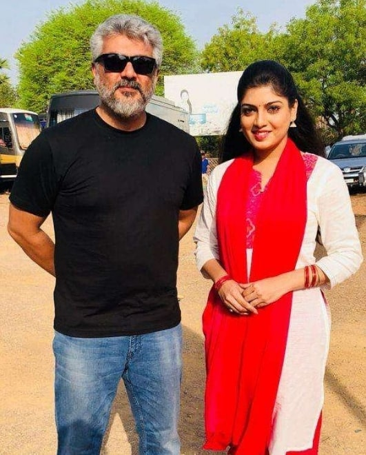 Papri Ghosh and Ajith