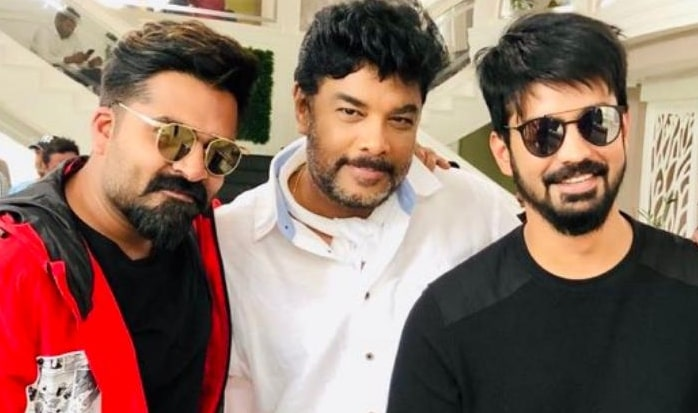 Simbu, Sundar c and mahat
