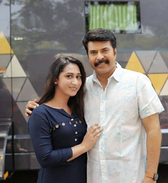 Anjali Ameer with Mammootty