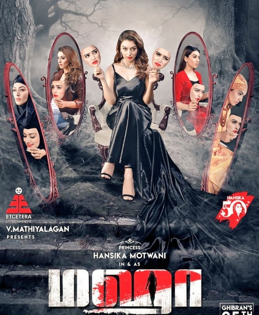 Hansika's Maha tamil movie wiki and Cast and crew