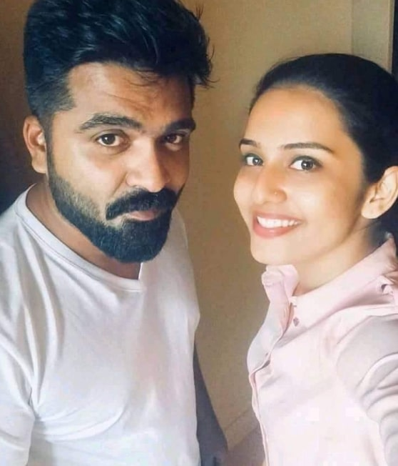 Shree Gopika with Simbu