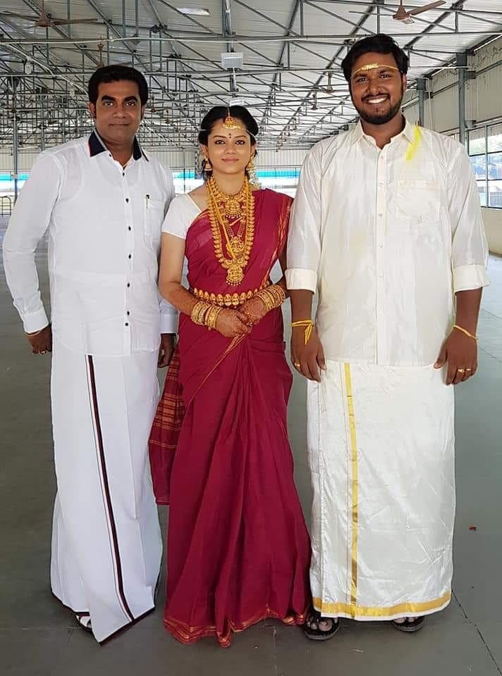 Anitha Sampath marriage