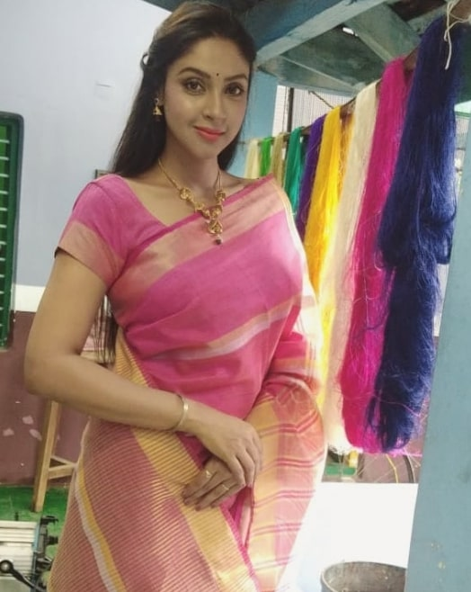 Thari Serial Actress Angana Roy